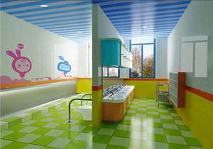 国外幼儿园卫生间装修效果图