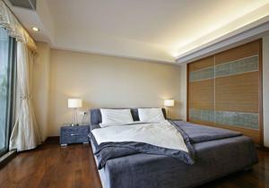 10平米卧室衣柜床一体装修效果图大全