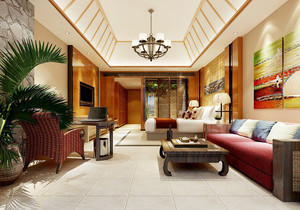 東南亞高端別墅裝修風格