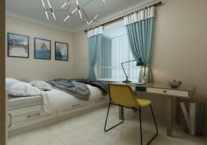 书房卧室一体装修效果图榻榻米