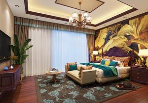 臥室 東南亞 家具 80平米裝修
