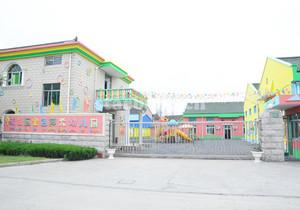 日式幼儿园大门设计效果图