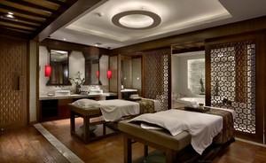 新中式spa会所效果图