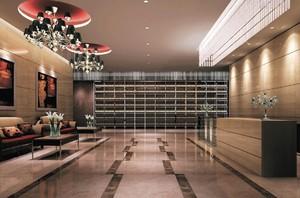 小形宾馆大厅装修效果图