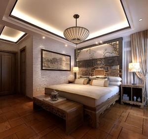 新中式风格装修卧室效果图大全