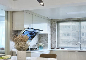 l型开放式小厨房装修效果图