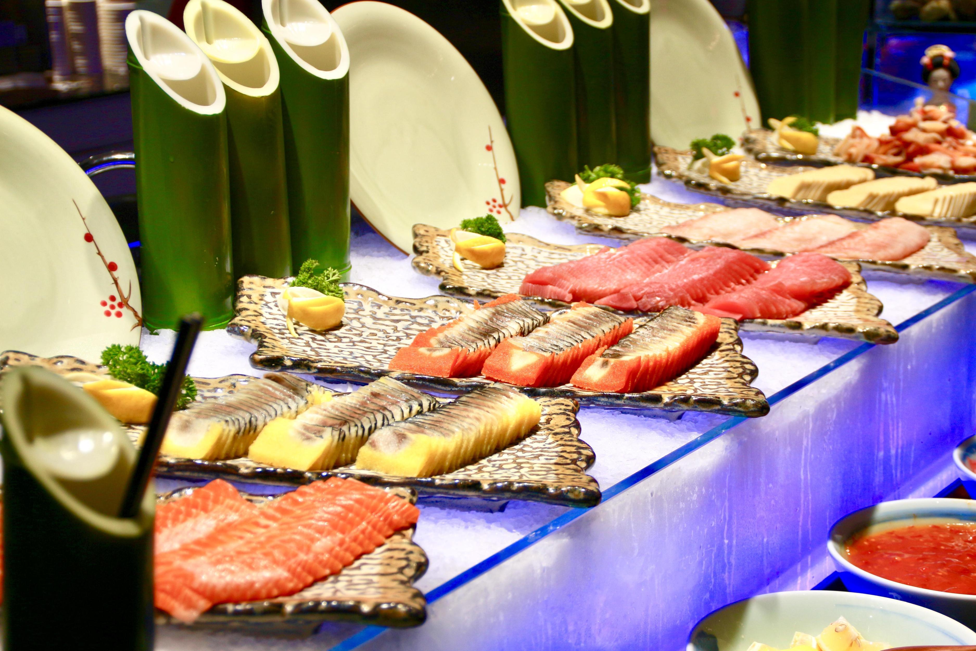 海鲜餐厅装修效果图大全集