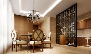 家庭装修餐厅屏风效果图