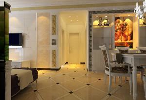 别墅进门玄关设计效果图