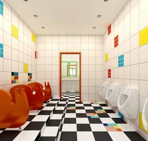 幼儿园教室卫生间装修效果图