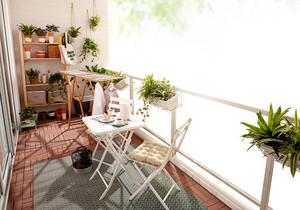 阳台 简约 吊顶 一居室装修
