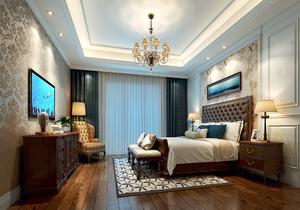 臥室 美式 局部 一居室裝修