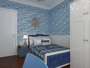 卧室墙纸装修效果图欣赏