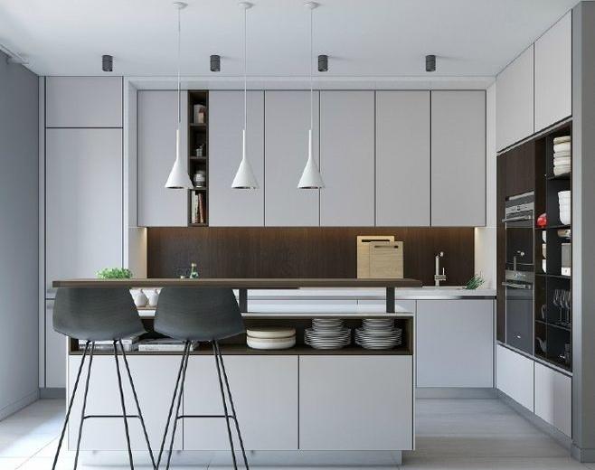 公寓开放式小厨房足彩导航效果图大全