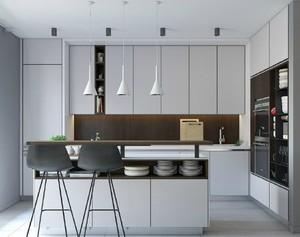公寓开放式小厨房装修效果图大全