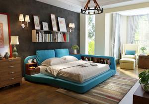 农村客厅加卧室装修效果图大全