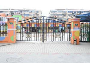 小型幼儿园的大门设计效果图