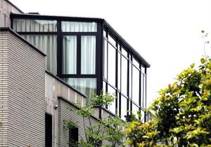 阳台 现代 局部 别墅装修