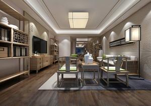 别墅客厅与餐厅一体装修效果图大全