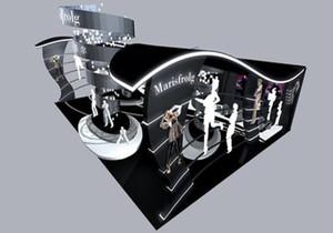 服装展厅大门设计效果图