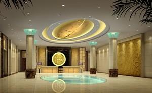 一樓賓館大廳裝修效果圖
