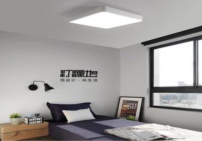 正方形客厅改一半卧室效果图