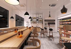 小面积餐饮店面装修效果图