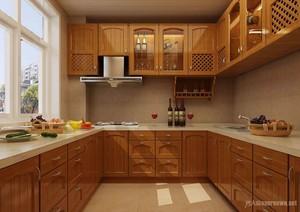 厨房 中式 局部 80平米装修