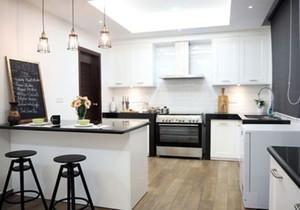 饭店开放式小厨房装修效果图