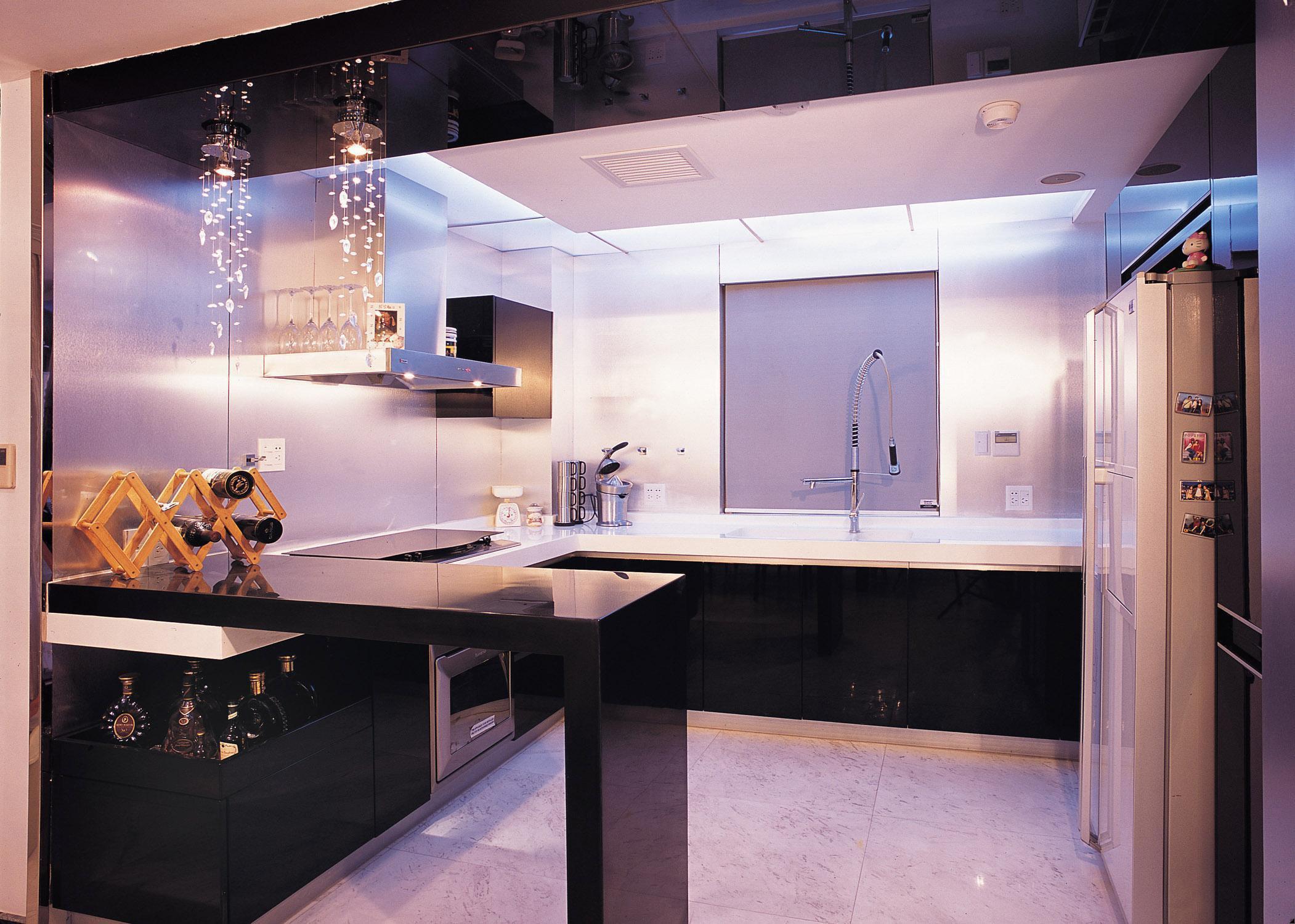 西式开放式厨房装修效果图大全
