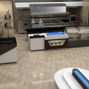 15平米的饭店厨房设计,小型饭店厨房装修设计效果图