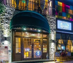 饭店门头效果图设计图片,农家特色风格饭店装修效果图