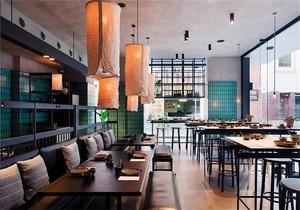 合肥餐饮店面装修设计,40平方餐饮店面装修效果图