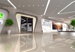 整装装修公司展厅的效果图大全