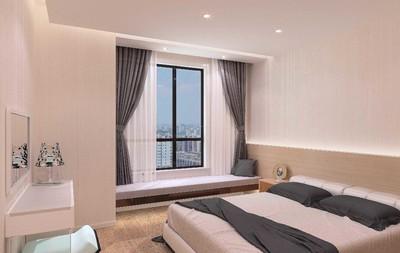 10平米带飘窗卧室装修效果图大全