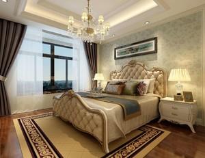 欧式壁纸装修效果图卧室图片大全