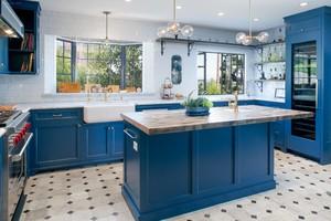 4平方米u开放式厨房装修效果图