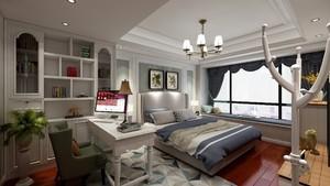 主卧与书房一体设计效果图欣赏