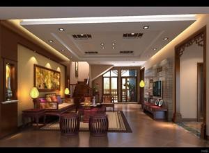 客厅 东南亚 局部 100平米装修