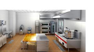 40平饭店厨房怎么设计装修效果图