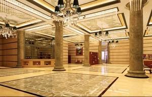 宾馆大厅瓷砖装修效果图大全