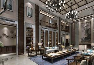 客厅 中式 家具 别墅装修