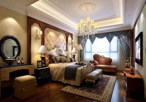 新古典歐式風格的臥室裝修效果圖大全
