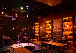 150平米的音乐餐饮店面装修效果图