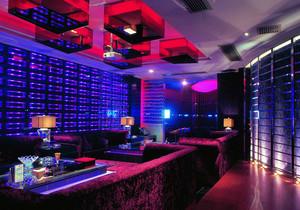一百平现代风格音乐酒吧装修效果图