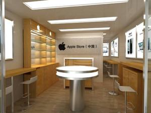 万达苹果手机专卖店图,苹果电脑专卖店效果图欣赏