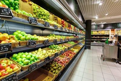 蔬菜超市顶级灯具装修效果图