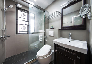 现代小户型卫生间最新装修效果图大全