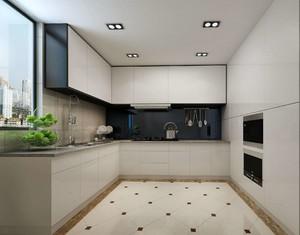 3平米l型开放式厨房装修效果图大全