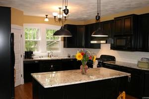 小厨房与餐厅开放式装修效果图大全